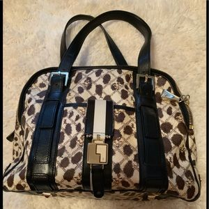 LAMB purse, satchel, great print.